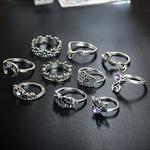 bagues argent lune silver 925