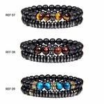 Bracelets de perles naturelles POUR LUI GoHappy (3)