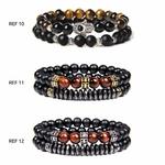 Bracelets de perles naturelles POUR LUI GoHappy (4)