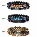 Bracelets de perles naturelles POUR LUI GoHappy (5)