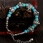 bracelet turquoise tortues