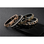 bracelet cuir léopard1