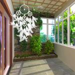 Attrape-Rêve Blanc Dreamcatcher