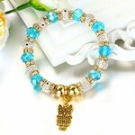 Bracelet Charms Hibou1