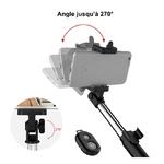 Bâton Selfie + Trépied + Télécommande Bluetooth 4