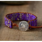 Bracelet Pierre Jaspe multicolore