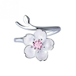 Bague Argent Cherry Blossom