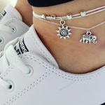 Bracelets de cheville à composer soi-même