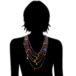Collier Ras du cou Candy 3