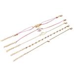 Bracelets (5 pièces) Boho Symboles