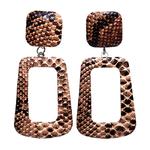 Boucles Doreille Écailles de serpent
