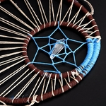 Attrape-Rêves bleu Plumes