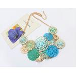 Collier Umbrella Turquoise gohappy 1