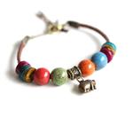 Bracelet Lucky Charm éléphant GoHappy