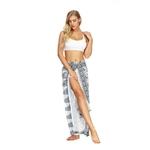 Pantalon large Yoga Paréo