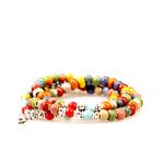 Bracelet Perles de Porcelaine gohappy