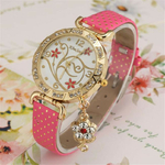 Montre-Bracelet Vintage Flower Rose1