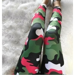 Leggings de sport Camouflage