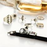 Bagues Black & Silver 2
