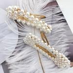 Barrettes à Cheveux Perles