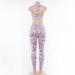 Ensemble Sport Femme Fitness Yoga Licorne 6