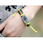 Bracelet cuir Reggae 1