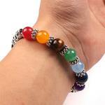 Bracelet pierres naturelles 7 chakras