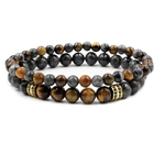 Bracelet 2 pièces Porte-Bonheur Buddha 1