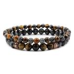 Bracelet 2 pièces Porte-Bonheur Buddha 3