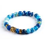 Bracelet pierres naturelles Buddha 4