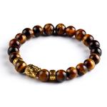 Bracelet pierres naturelles Buddha 3