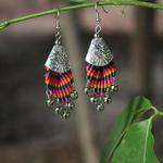 Boucles d'oreille Porte du Tibet3