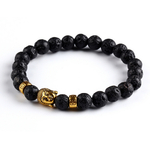 Bracelet pierres naturelles Buddha 2