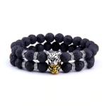 Bracelet Leopard Safari Stones