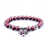 Bracelets Pierres de Grenat Énergie du Coeur 11