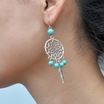 Boucles d'oreille Dream Catcher1
