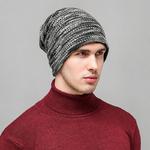 Bonnet de Laine gris1