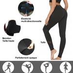 Legging noir Entrainement