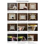 procédure de montage cadre tableau