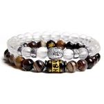 Bracelet Duo Buddha Le moulin à prières 3