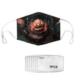 Masques Serie Lotus PM25 avec 7 Filtres 8