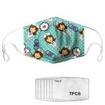 Masques Serie Infirmière PM25 avec 7 Filtres