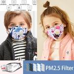 Masques ENFANTS PM25 avec Valve et Filtres 14