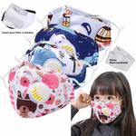 Masques ENFANTS PM25 avec Valve et Filtres 8