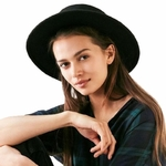 chapeau feutre Fedora pour femme homme