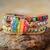 bijoux de couleurs arc en ciel