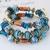 Bracelet Santorini bleu