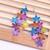 GoHappy earings Fleurs Flowers