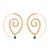 Boucles d'Oreille Golden Heart2