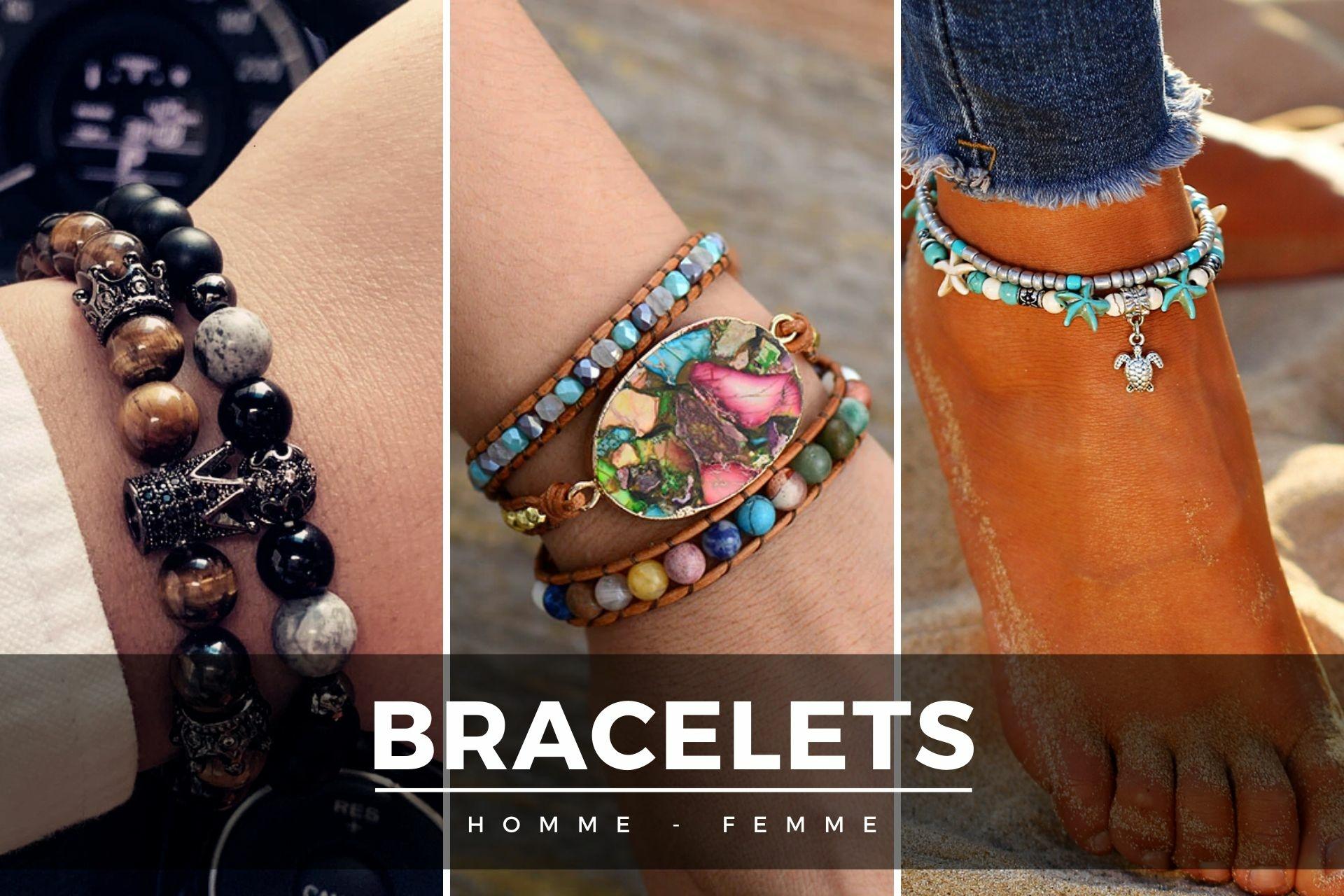 bracelets HOmme Femme
